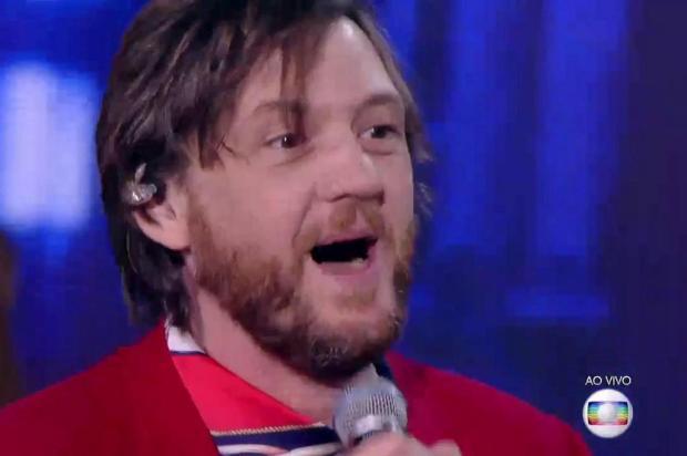 """André Frateschi é o primeiro finalista do """"Popstar"""" Reprodução/TV Globo"""