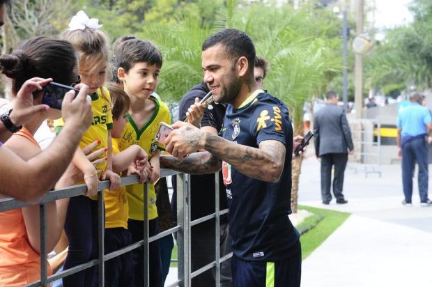 """Cacalo: """"A Seleção e seus craques desfilarão na Arena"""" Ronaldo Bernardi/Agencia RBS"""
