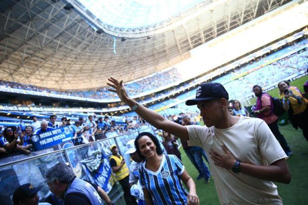 """Cacalo: """"Pedro Rocha saiu do Grêmio pela porta da frente"""" Carlos Macedo/Agencia RBS"""