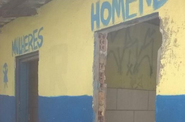 Banheiro público depredado causa problemas em Sapucaia do Sul Arquivo Pessoal / Leitor/DG/Leitor/DG