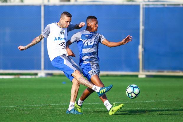 """Cacalo: """"Concentração total no Rio de Janeiro"""" Lucas Uebel / Grêmio/Grêmio"""