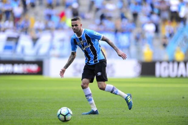 "Guerrinha: ""Luan só joga por um milagre"" Carlos Macedo/Agencia RBS"