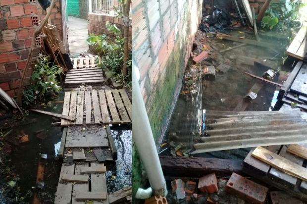 VÍDEO: Há seis meses, esgoto invade casa de moradora da Vila Nazaré, em Porto Alegre Arquivo Pessoal / Leitor/DG/Leitor/DG