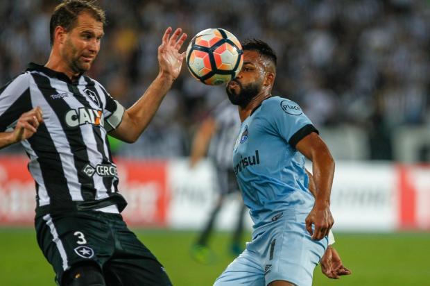 """Luciano Périco: """"Grêmio e Botafogo fizeram um duelo digno de Libertadores"""" Lucas Uebel / Divulgação/GREMIO FBPA/Divulgação/GREMIO FBPA"""