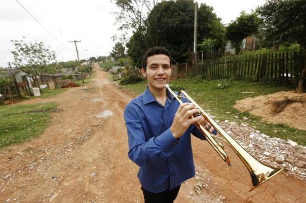 Trompetista de Alvorada ganha bolsa para estudar música na Bélgica Carlos Macedo/Agencia RBS