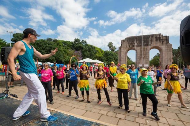 Atividades na Redenção marcam o Dia do Idoso Omar Freitas/Agencia RBS
