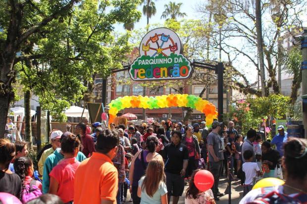 Sábado é dia de curtir com a criançada o evento Diversão no Parque divulgação/divulgação
