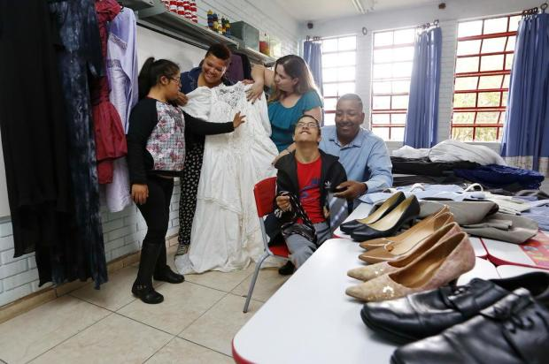 Festa para debutantes com deficiência precisa de doações Mateus Bruxel/Agencia RBS