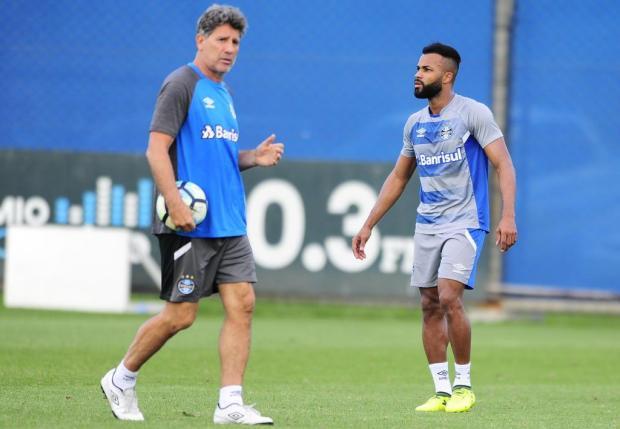 """Guerrinha: """"Jogo do Grêmio vale a esperança no Brasileirão"""" Robinson Estrásulas/Agencia RBS"""