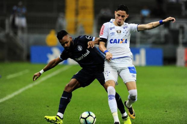 "Luciano Périco: ""Te liga, Grêmio"" Lauro Alves/Agência RBS"