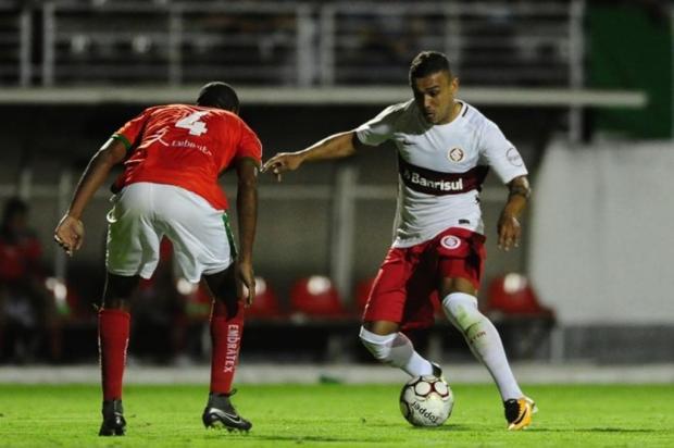 """Zé Victor Castiel: """"Um péssimo jogo"""" Ricardo Duarte/SC Internacional/Divulgação"""