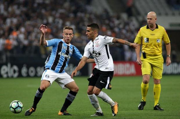 """Cacalo: """"Foi uma boa atuação do Grêmio contra o Corinthians"""" Luis Moura/WPP/Lancepress!"""