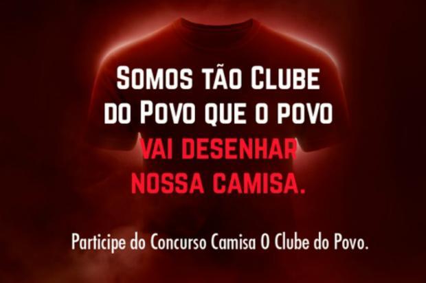 Inter promove concurso para torcedores desenharem nova camisa Divulgação / Inter/Inter