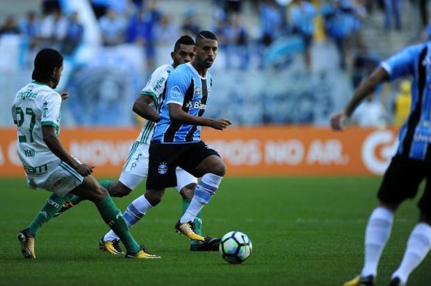 """Guerrinha: """"Grêmio levou uma bangornada do Palmeiras"""" Félix Zucco/Agencia RBS"""