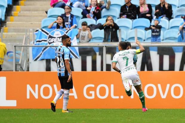 Com reservas, Grêmio perde para o Palmeiras e cai para o quarto lugar do Brasileirão Félix Zucco/Agencia RBS