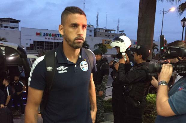 Primeiro dia do Grêmio no Equador é reservado para descanso e ambientação Eduardo Gabardo / Agência RBS/Agência RBS