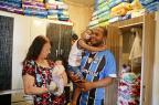 Bebê que perdeu a mãe e precisa de leite em pó mobiliza corrente de solidariedade Félix Zucco / Agência RBS/Agência RBS