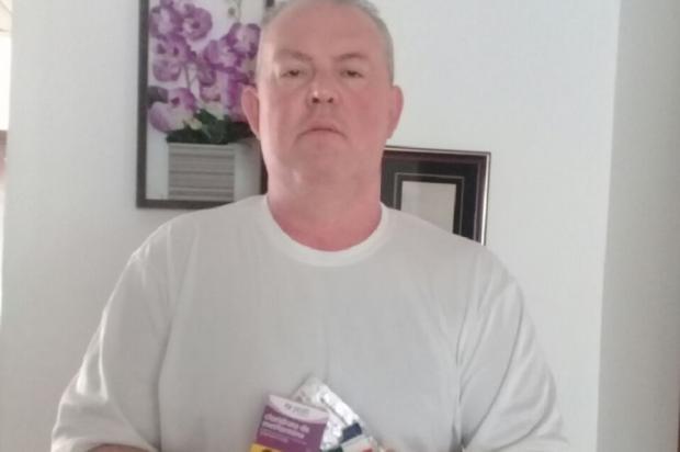 Aposentado está há um mês sem receber remédios em Sapucaia do Sul Arquivo Pessoal / Leitor/DG/Leitor/DG