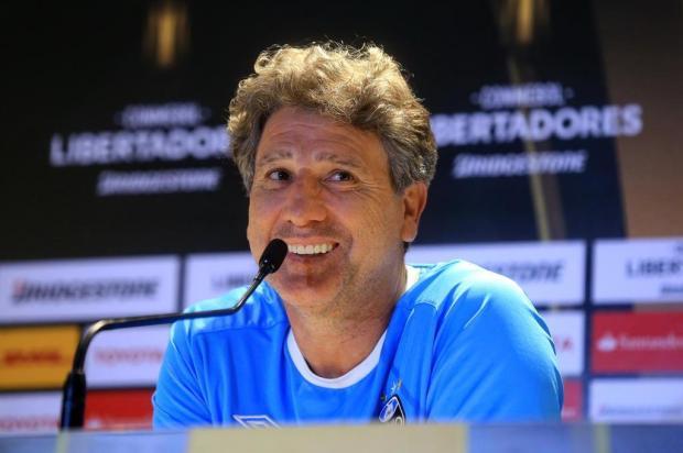 """Cacalo: """"Renato mostrou que ganha até com quatro volantes"""" André Ávila/Agencia RBS"""