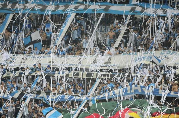 """Cacalo: """"Apoio total e Arena lotada"""" Lauro Alves/Agencia RBS"""