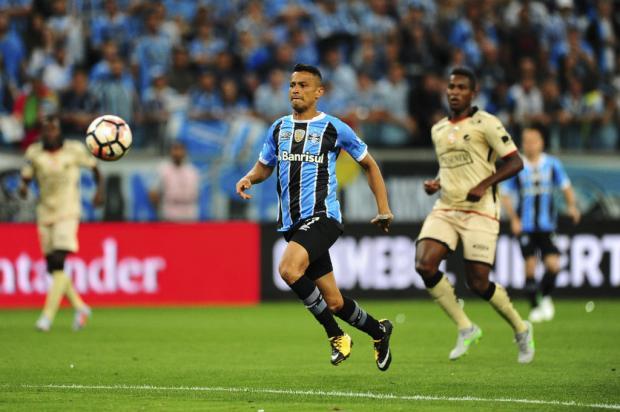 André Baibich: Cícero é o jogador que mantém a identidade do Grêmio e, por isso, a melhor opção na Recopa Félix Zucco / Agência RBS/Agência RBS