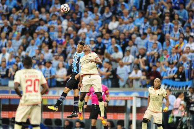 Grêmio perde para o Barcelona-EQU, mas garante vaga na final da Libertadores Lauro Alves/Agencia RBS