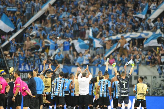 """Cacalo: """"Grêmio cumpre a sua trajetória de clube grande"""" Lauro Alves / Agência RBS/Agência RBS"""