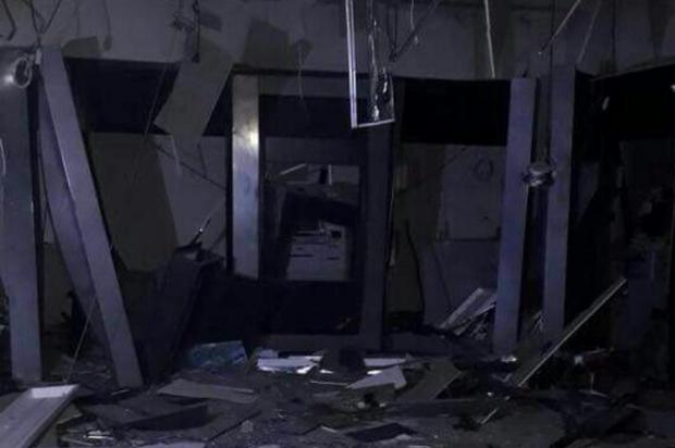 Número de ataques a banco com uso de explosivos em 2017 é o maior em sete anos no RS Thiago Nunes/Arquivo Pessoal