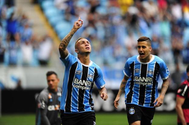 """Guerrinha: """"Com Everton em campo, tudo se transformou"""" André Ávila/Agencia RBS"""