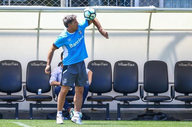 """Guerrinha: """"Jogo em Campinas só vale para um time"""" Lucas Uebel / Grêmio, Divulgação/Grêmio, Divulgação"""