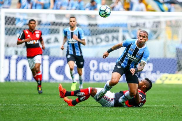 """Cacalo: """"O que torna um time competitivo"""" Lucas Uebel / Grêmio, Divulgação/Grêmio, Divulgação"""