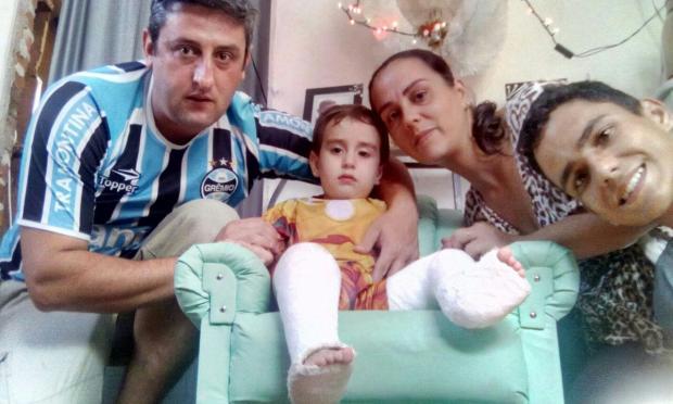 Menino consegue fazer cirurgia depois de mobilizar corrente de solidariedade Leitor DG / Arquivo Pessoal/Arquivo Pessoal