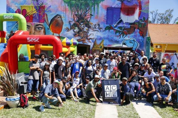 Primeira casa de hip hop do RS é inaugurada em Esteio Robinson Estrásulas/Agencia RBS