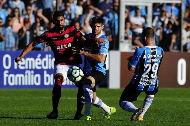 """Guerrinha: """"Libertadores é o que interessa no Humaitá"""" Mateus Bruxel/Agencia RBS"""