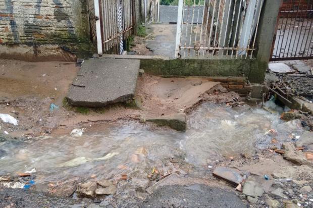 Problema com esgoto ocorre há dois anos em bairro de Porto Alegre Arquivo Pessoal / Leitor/DG/Leitor/DG
