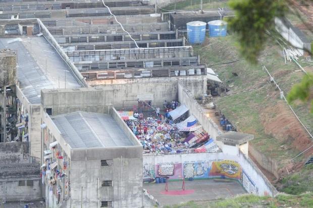 """""""Não entregaremos uma galeria a eles"""", diz diretor da Susepe sobre presos no pátio do Central Ronaldo Bernardi/Agencia RBS"""