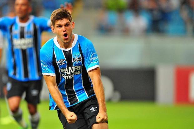 No último teste com titulares antes de decisão, Grêmio vence o São Paulo na Arena Lauro Alves/Agencia RBS