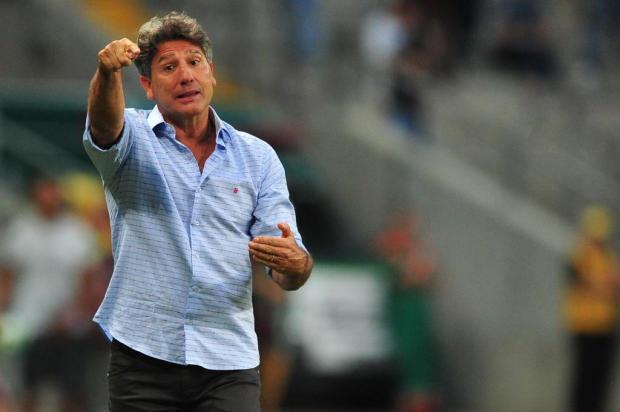 """Cacalo: """"Pensando na Libertadores"""" Lauro Alves/Agencia RBS"""