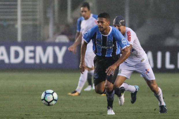 """Cacalo: """"O que fica do jogo contra o Santos"""" Ricardo Moreira/Fotoarena/Lancepress!"""