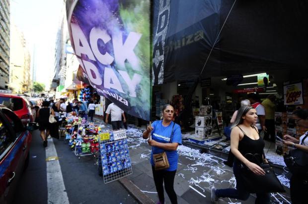 Black Friday: TVs e celulares são os itens mais procurados nas lojas da Capital Ronaldo Bernardi/Agencia RBS