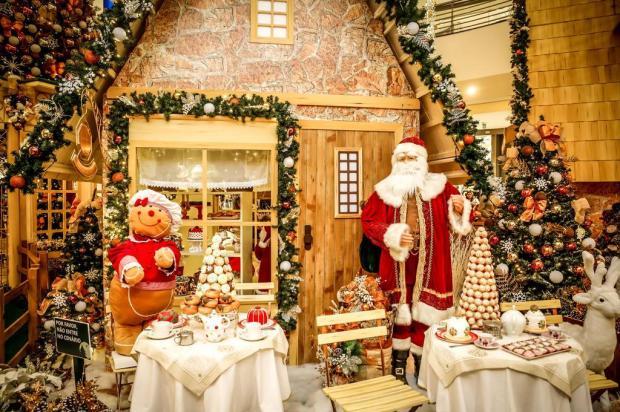 De graça! Confira a programação de Natal dos shoppings de Porto Alegre André Feltes/Especial