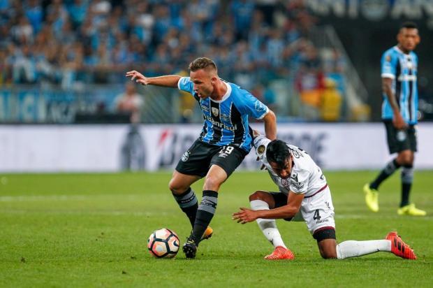 """Cacalo: """"A véspera da decisão"""" Lucas Uebel / Divulgação Grêmio/Divulgação Grêmio"""