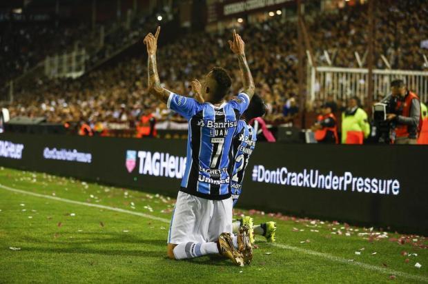 """Guerrinha: """"Foi uma vitória coletiva do Tricolor"""" Félix Zucco/Agencia RBS"""
