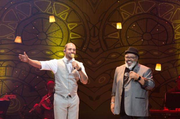 Diogo Nogueira, Jorge Aragão e Moacyr Luz: bambas no fim de semana de samba em Porto Alegre Divulgação/Opus Promoções