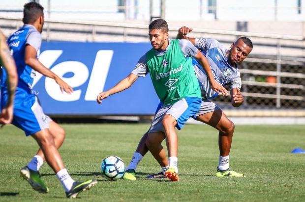 """Guerrinha: """"É dia de fechar a conta no Brasileirão"""" Lucas Uebel/Grêmio/Divulgação"""