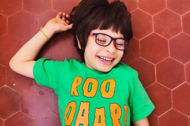 Menino precisa de ajuda para fazer tratamento de síndrome genética rara Arquivo Pessoal / Leitor/DG/Leitor/DG