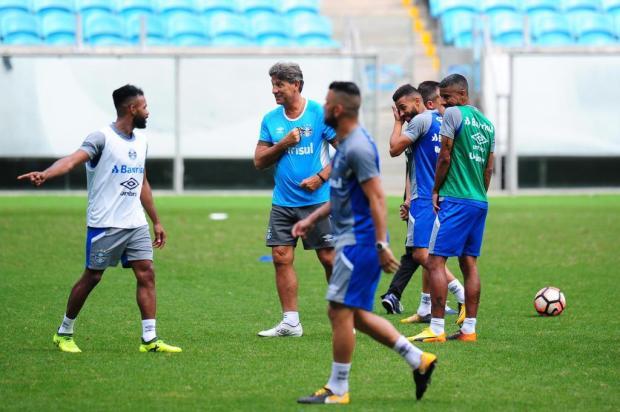 """Cacalo: """"Lá vai o Grêmio"""" Carlos Macedo/Agencia RBS"""