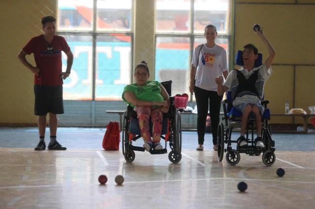 Olímpiadas da Apae promovem inclusão e desenvolvimento André Ávila/Agencia RBS