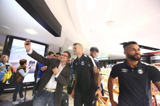 """Guerrinha: """"Agora é só esperar a estreia no Mundial"""" Jefferson Botega/Agencia RBS"""