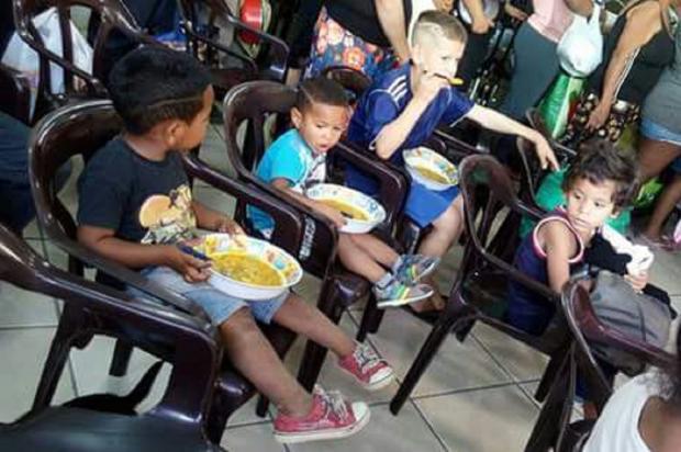 Casa da Sopa precisa de ajuda para seguir alimentando moradores de rua e famílias carentes de Porto Alegre Arquivo Pessoal / Leitor/DG/Leitor/DG